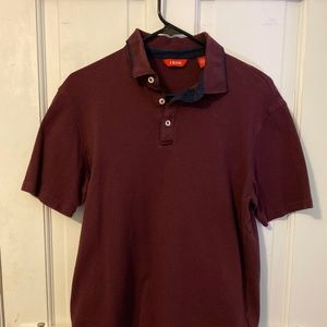 IZOD Maroon Red Polo Shirt - Men's Medium